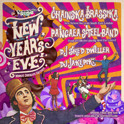 New Year's Eve at the Magic Garden!