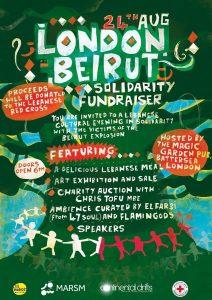 London Beirut Solidarity Fundraiser