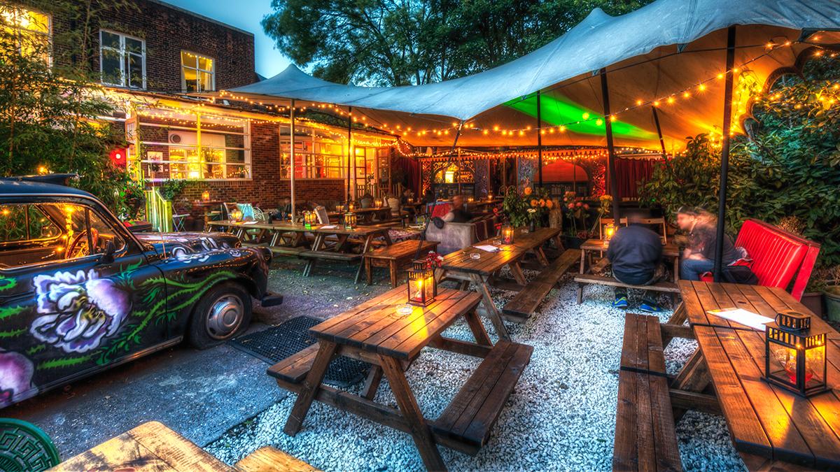 Home food gardens - The Garden Magic Garden Pub